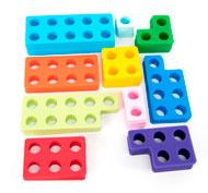 Estructuras numéricas de silicona para escritorio tts Pack de 80 unidades