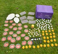 Kit de alfabetización para exteriores Pack de 67 unidades