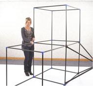 Juego de estructuras para tiendas de campaña portátiles Pack de 116