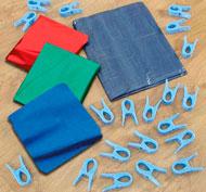 Increíble kit para crear guaridas colores Pack de 21 piezas