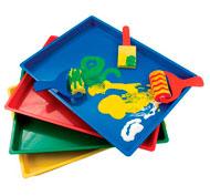 Bandeja de arte colores pack pack de 8