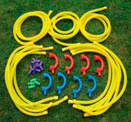 Central telefónica con tubos parlantes Pack de 35