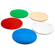 Espejos circulares de colores 47,5 cm pack de 5