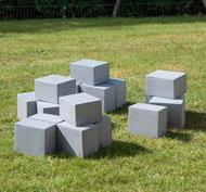Adoquines ficticios 60pk pack de 60 piezas