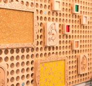 Juego de 30 marcos de inserción de tarjeta para panel muro lote de 30