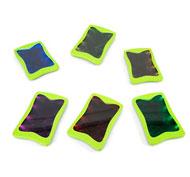 Conjunto mini-pizarras con luz y rotuladores Pack de 12