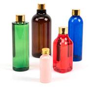 Botellas de plástico de distintos tamaños Pack de 5 unidades