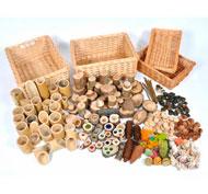 Colección los tesoros naturales set 208 piezas