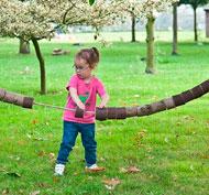 Gran línea de enhebrar los troncos set de 20 piezas
