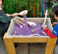 Mesa con1 bandeja para arena y agua la unidad