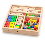 Set de construcción con caja