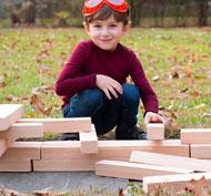 Bloques de construcción las vigas 24 piezas