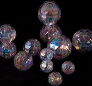 Piedras transparentes los prismas lote de 12 rocas