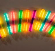 Tubos con luz interactivos conjunto de 12 tubos