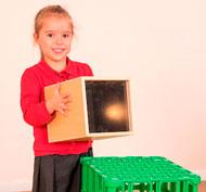 Proyector de imágenes y objetos infantil