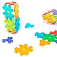 Construcción magnética Hashmag Polydron set de 24 piezas