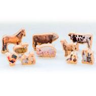 Animales de la granja imágenes set de 10 piezas