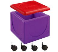 Maxi lote baúl móvil y tapa liloo el conjunto