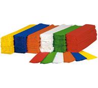 Maxi lote de hojas de papel crespón 28 gr los 180