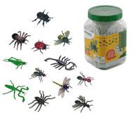 Mini Figuritas Los Insectos los 12