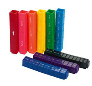 Torres de fracciones arco iris las fracciones el conjunto
