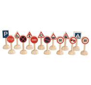 14 señales de tráfico el conjunto