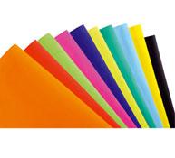 Carteles de colores 75 gr los 10