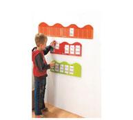 Porta-tarjetas mural pequeñas olas long. 120 cm la unidad