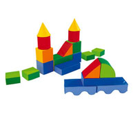 Construcción gigante en goma espuma ludiblocs kit ludiblocs