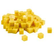 Cubo base 10 multicolor cubo unidad los 100