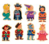 Puzzle magnético los niños disfrazados el conjunto
