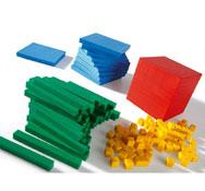 Cubo base 10 multicolor maxi lote el conjunto