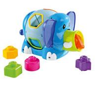 Caja de formas el elefante el conjunto