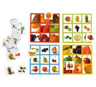 Bingo foto frutas el juego