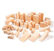 Bloques de construcción gigantes formas clásicas lote de 50