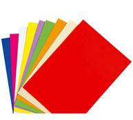 Hojas de papel color  120 g lote de 50