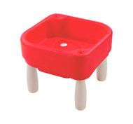 Mesa de actividades pequeña para agua y arena altura total: 45 cm el conjunto