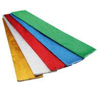 Rollos de papel crespón metalizado 72 g los 5