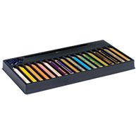 Lápices de colores acuarelables mina extra-gruesa woody lote de 18