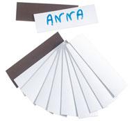 Etiquetas magnéticas lote de 12
