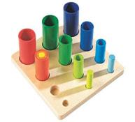 Encaje formas los tubos el conjunto