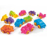 Surtido de mini vehículos de colores los 48 vehículos