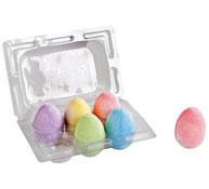 Tizas huevo gigantes lote de 6