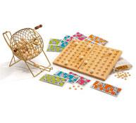 Juego de lotería y tablero de control el conjunto