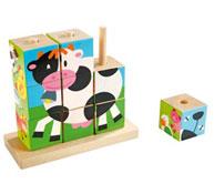 Puzzle 9 cubos macro puzzles la unidad