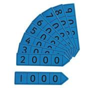 Flechas base 10 magnéticas gran modelo millares los 9