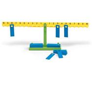 Balanza matemática el conjunto