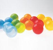 250 bolas opacas los 250