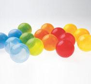 Bolas translúcidas los 250