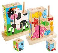 Maxi lote puzzles 9 cubos los 2
